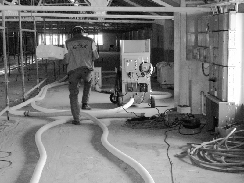 Dämmtechnik Neuhaus - Fachbetrieb - Baustelle Industriepark Höchst