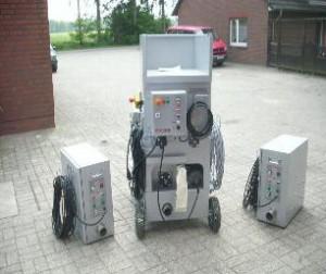 Dämmtechnik Neuhaus Visbek - Einblasmaschine ISO-Plus