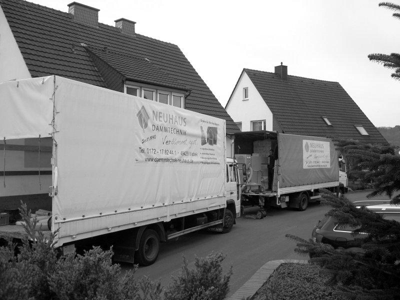 Dämmtechnik Neuhaus - Fachbetrieb - eigene LKWs