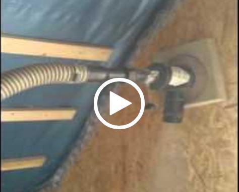 Dämmtechnik Neuhaus Visbek - Fachbetrieb Einblasdämmung - Bild Video Einblasdämmung Zellulose