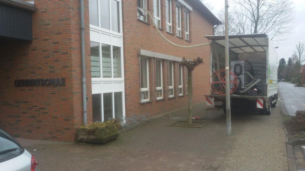 Dämmung obere Geschossdecke mit Steinwolle in Visbek