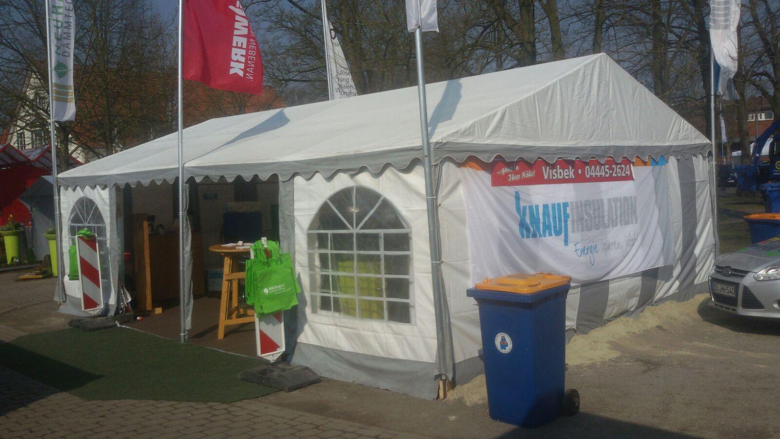 Dämmtechnik Neuhaus auf der Gewerbeschau Lohne 2016